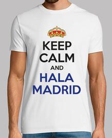 keep le and calm and hala madrid