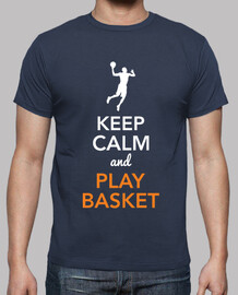 keep le and calm and jouer au basket (homme)