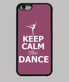 keep le and calm and la danse