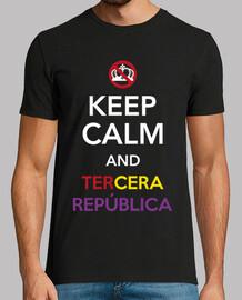 keep le and calm and la troisième république