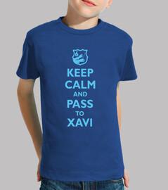 keep le and calm and passer à xavi