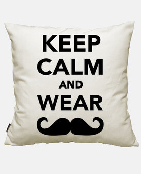 keep le and calm and porter des moustaches