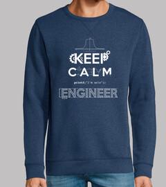 keep le calme, je suis un ingénieur