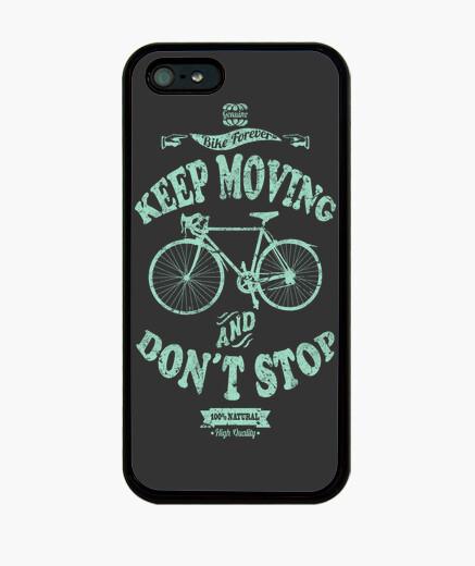 Coque iPhone keep le déplacement and ne pas arrêter
