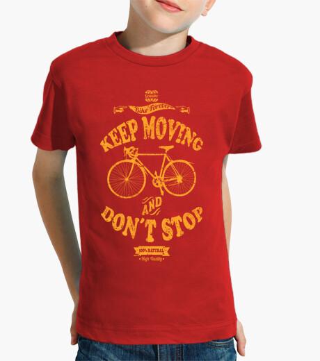 Abbigliamento bambino keep muoversi e dont stop
