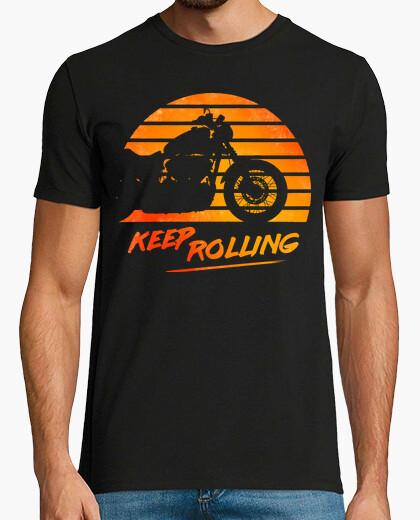 Camiseta Keep Rolling