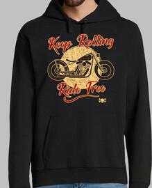 Keep Rolling. Ride Free