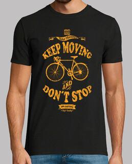 keep sie bewegen und stoppen nicht