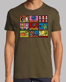 Keith Haring - Guerres des étoiles