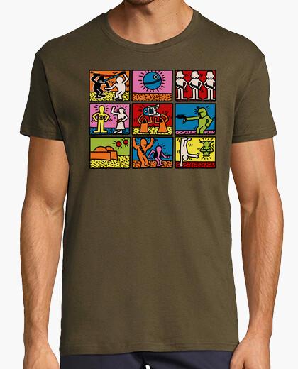 Keith haring star wars t-shirt