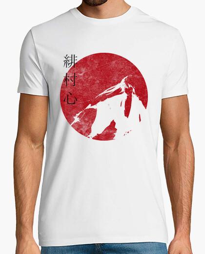 Camiseta kenshin sol rojo