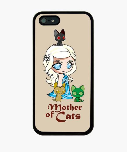 Coque iPhone khatleesi chats gaine mère iphone 5 / 5s