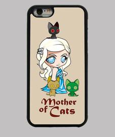 khatleesi chats mère couvrent iphone 6