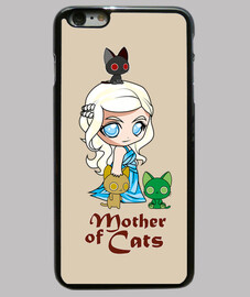 Khatleesi Madre de gatos Funda iPhone 6 Plus