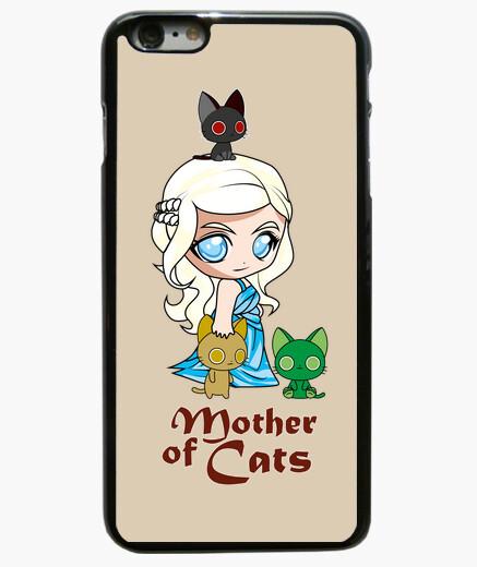 Coque Iphone 6 Plus / 6S Plus khatleesi mère chat coque iphone 6 plus