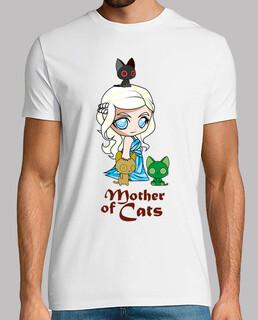 khatleesi mother cat man, short sleeve