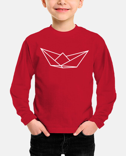 Kids, long sleeve, red