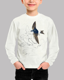 Kids, long sleeve, white