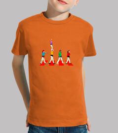 Kids, short sleeve, orange