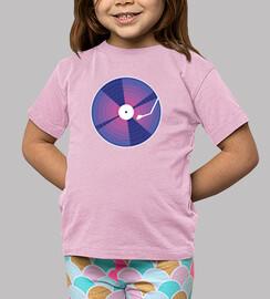 Kids, short sleeve, pink