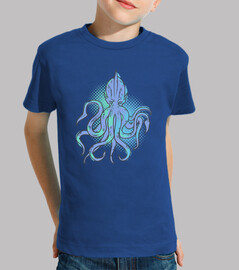 Kids, short sleeve, royal blue
