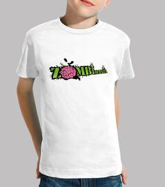 kids t-shirt - logo zombimania