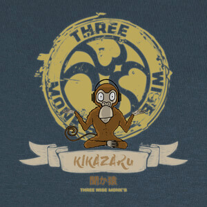 Camisetas Kikazaru - Three Wise Monk's