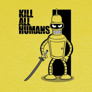 Camisetas Kill All Humans