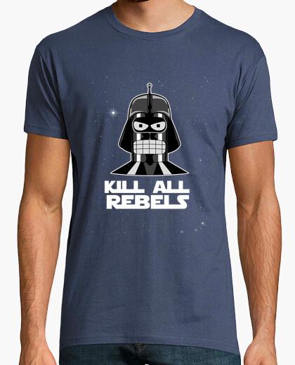 Tee-shirt kill all rebelles