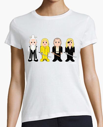 T-shirt kill bill: pai mei, la sposa, bill &