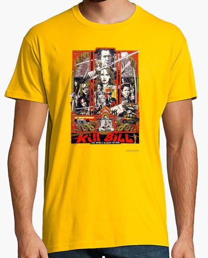 Camiseta Kill Bill Poster Retro