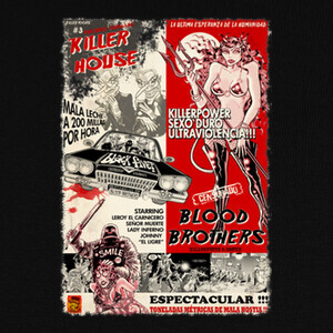 Camisetas KILLER HOUSE