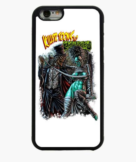 Killertoons_exhumedmovies cover 2 iphone 6 / 6s case