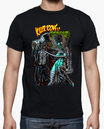 Killertoons_exhumedmovies cover 2 t-shirt