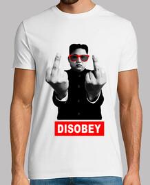 Kim Jong-un - DISOBEY (desobedece)