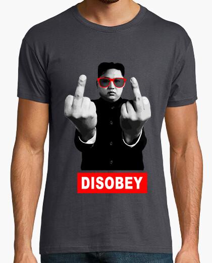 Camiseta Kim Jong-un - DISOBEY (desobedece)