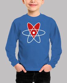 Kinder, Langarm-Shirt, royalblau