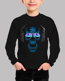 Kinder, Langarm-Shirt, schwarz