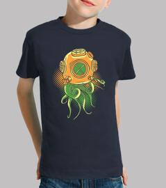 Kinder, T-Shirt, navy