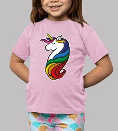 Kinder, T-Shirt, rosa