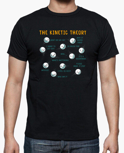 Kinetic theory t-shirt