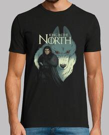 king nella maglietta del north