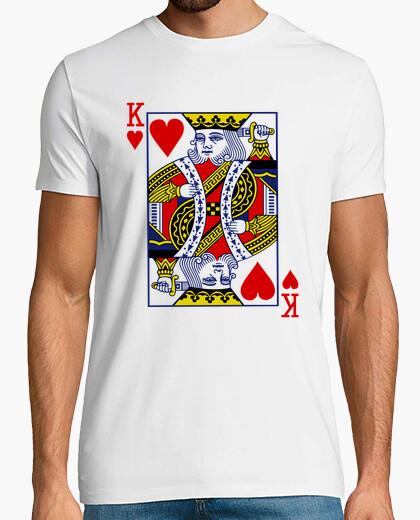 Camiseta King Of Hearts