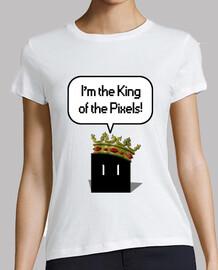 King of pixels black