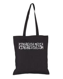 KINGBEVDA.COM Tote Bag With Merch Logo v1