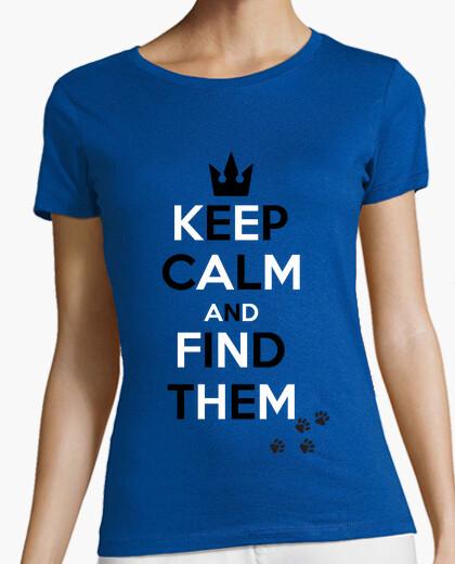 Camiseta Kingdom Hearts - Keep Calm And Find Them - joseppe10