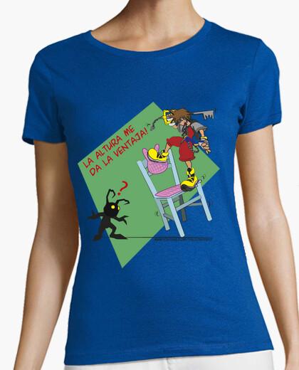 Camiseta Kingdom Hearts - La Altura me da la ventaja - joseppe10