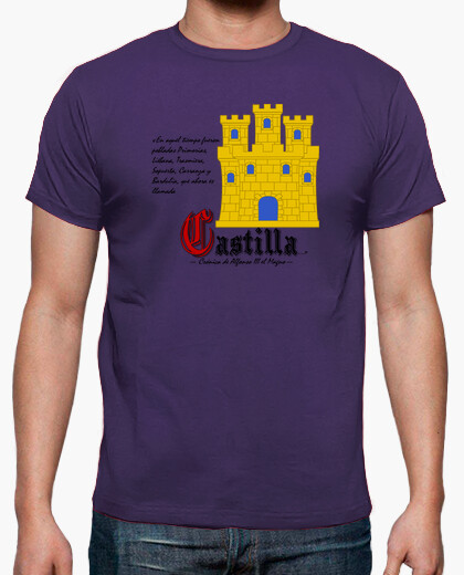Kingdom of castile t-shirt