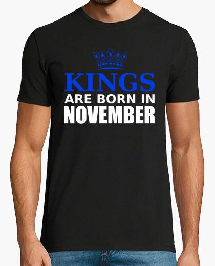 Tee-shirt kings are born in november