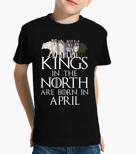 Ropa infantil Kings North Born April